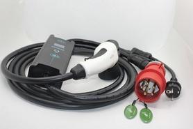 Ładowarka samochodu elektrycznego 32A 7kW Typ2 i3 Leaf Tesla IEC62196 Wallbox