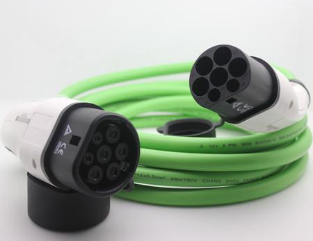 Kabel ładowarki samochodu elektryczneg Leaf i3  typ2 IEC62196