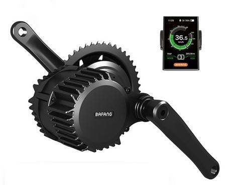Elektryczny silnik zestaw do roweru Bafang 1kW BBSHD DPC18