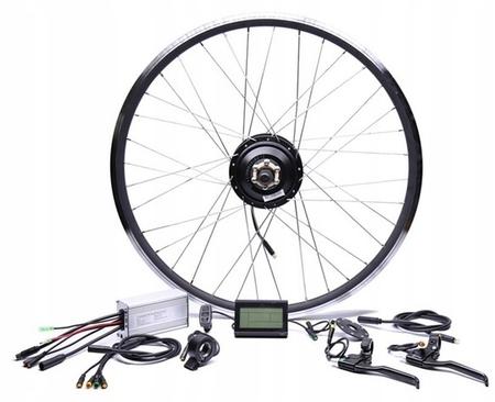 Elektryczny silnik zestaw do roweru 350W 36V Przód kompletne koło