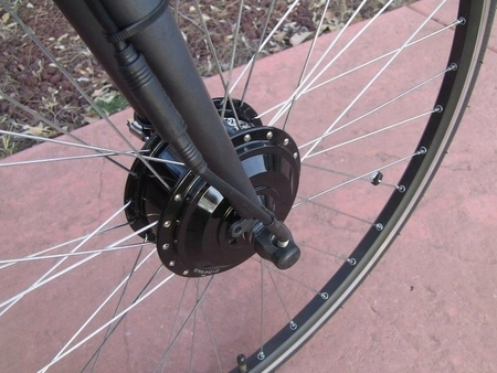 Elektryczny silnik zestaw do roweru elektrycznego 350W 36V Przód kompletne koło