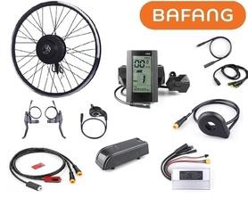 Elektryczny silnik zestaw do roweru Bafang 500W 48V Przód kompletne koło