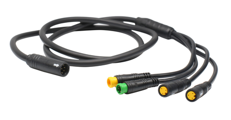 Przewód Kabel Rozdzielacz Silnika BBS EB-BUS 1T4 do Ebike Bafang 8Fun