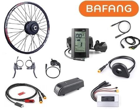 Elektryczny zestaw do roweru elektrycznego Bafang 500W 48V Tył Kaseta Kompletne koło
