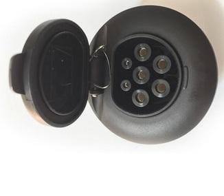 Gniazdo ładowarki samochodu elektryczneg typ2 32A IEC62196
