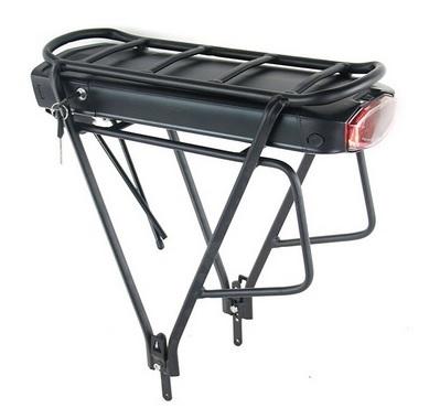 Bateria do roweru elektrycznego Li-ion 48V 14Ah 672Wh z bagażnikiem