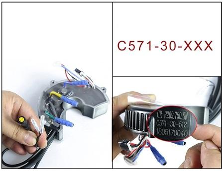 Sterownik silnika Bafang 350W 36V 18A BBS01B