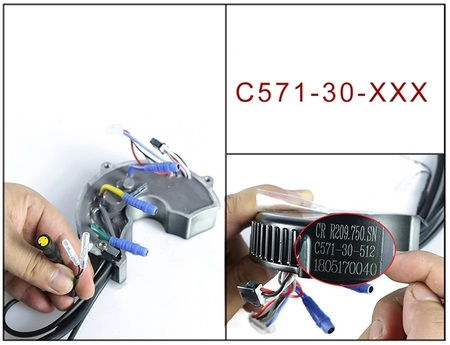 Sterownik silnika Bafang 750W 48V 25A BBS02B
