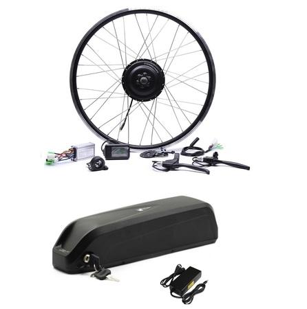 Elektryczny silnik zestaw do roweru 250W 36V Tył + bateria 378Wh