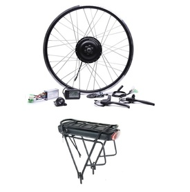 Elektryczny silnik zestaw do roweru 350W 36V Tył + bateria z bagażnikiem 378Wh