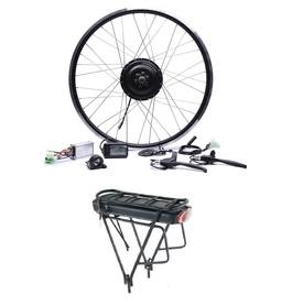 Elektryczny silnik zestaw do roweru 250W 36V Tył + bateria z bagażnikiem 378Wh