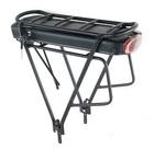 Elektryczny silnik zestaw do roweru 350W 36V Przód + bateria z bagażnikiem 378Wh