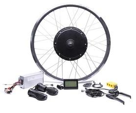 Elektryczny silnik zestaw do roweru 2kW 48V Tył wolnobieg kompletne koło