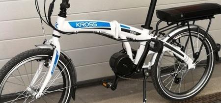 Elektryczny zestaw do roweru Bafang 500W 48V + bateria 672Wh na bagażnik